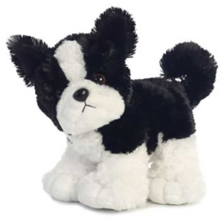 12 Inch Stompers Toby Boston Terrier Dog Plush Stuffed Animal By