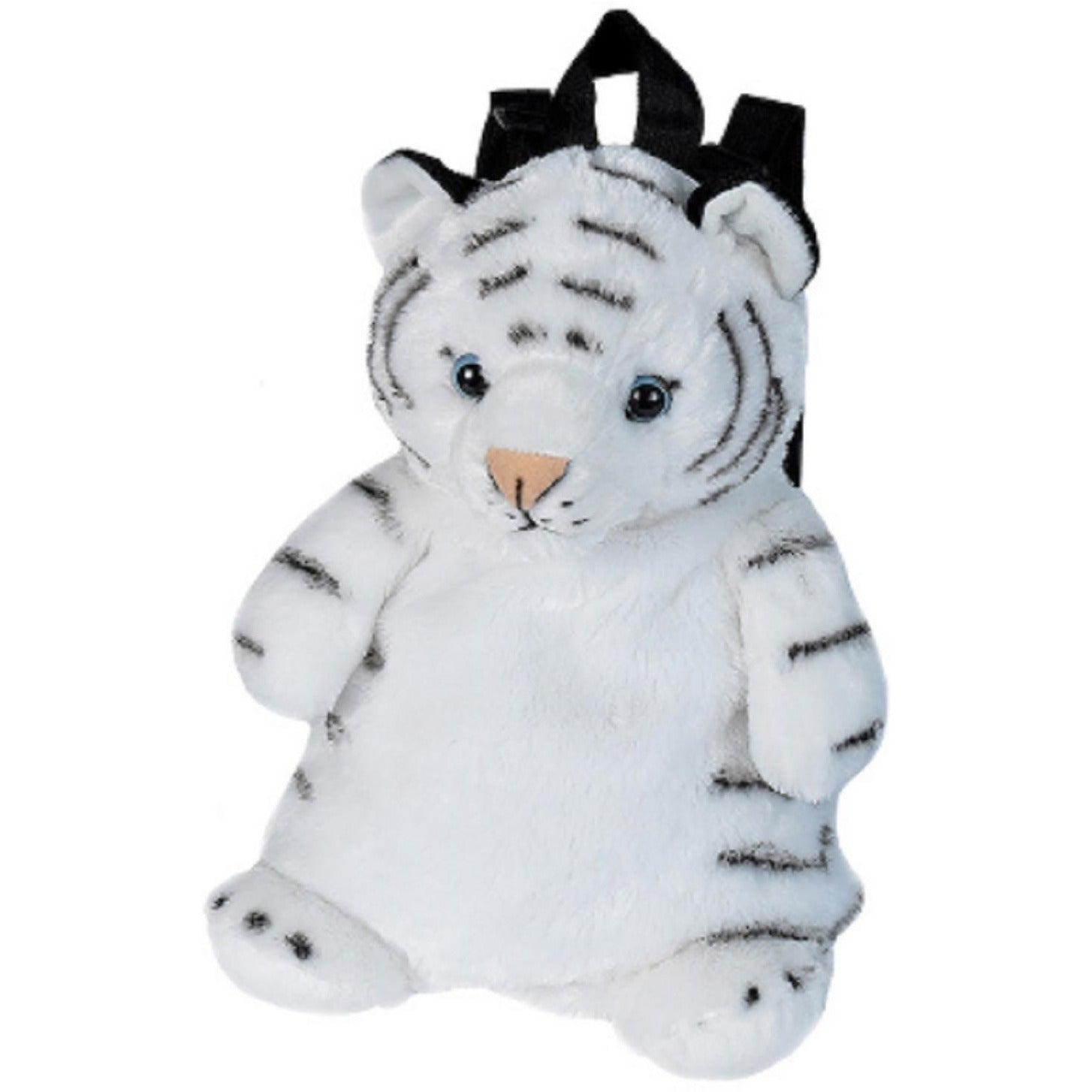 14 Inch White Tiger Plush Stuffed Animal Backpack By Wild Republic