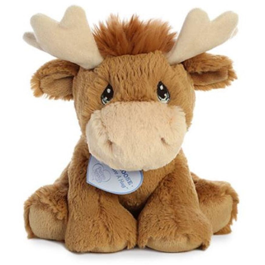 4c1874e46c3f 9 Inch Precious Moments Monty Moose Plush Stuffed Animal by Aurora