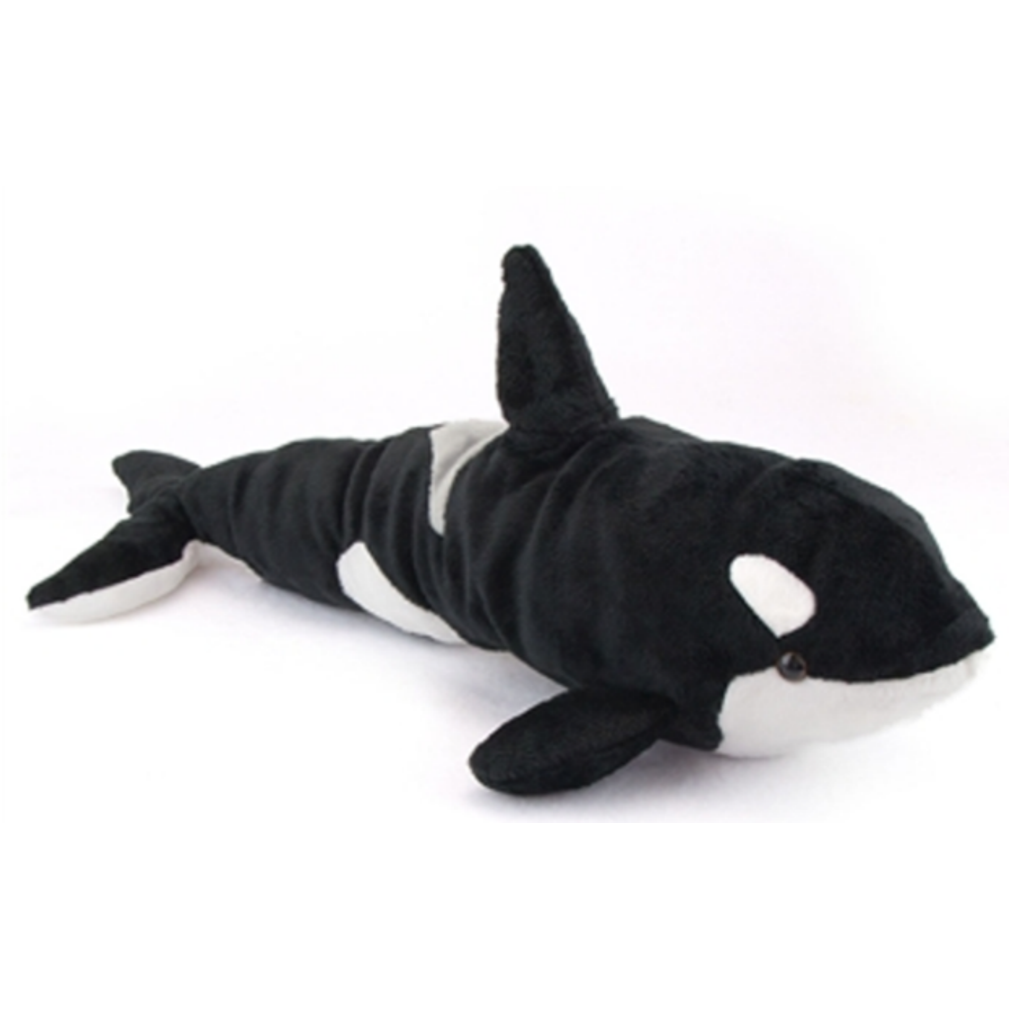 19 Inch Conservation Critter Orca Whale Plush Stuffed Animal By Wildlife Artists