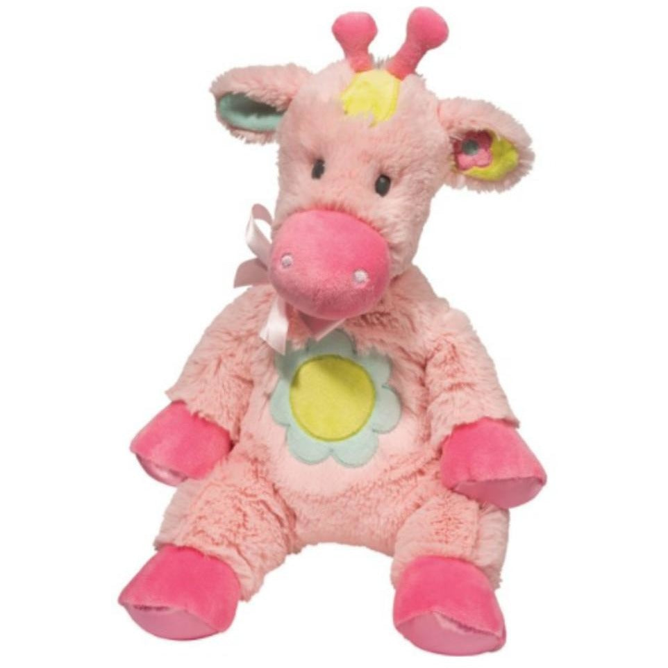 16 Inch Plumpie Pink Giraffe Plush Stuffed Animal Baby Toy By