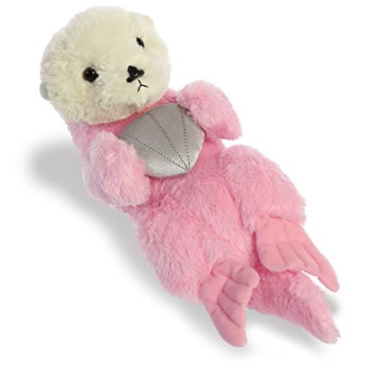 15 Inch Destination Nation Pink Sea Otter Plush Stuffed Animal By