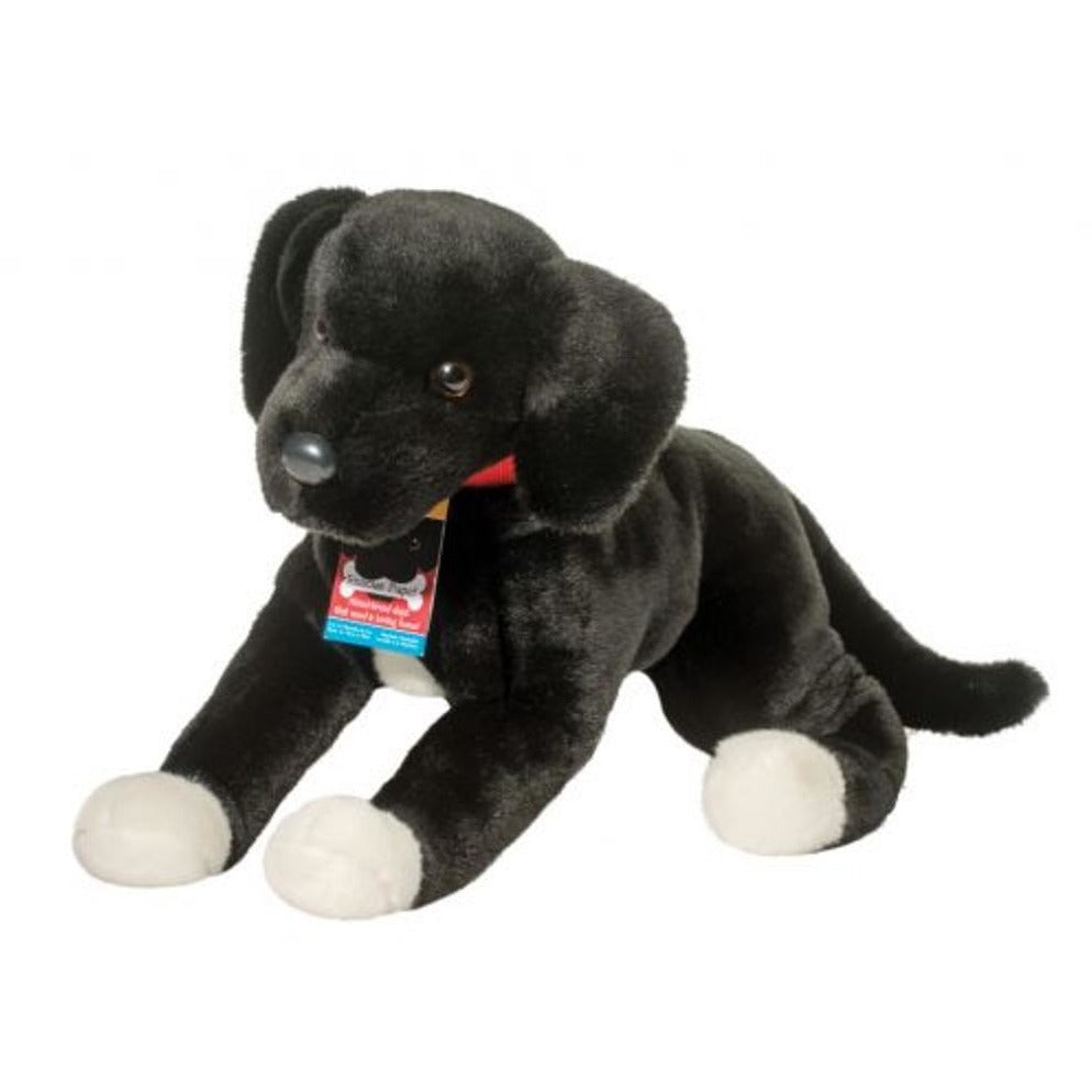 23 Inch Coupe Rescue Dog Black Lab Mix Plush Stuffed Animal By