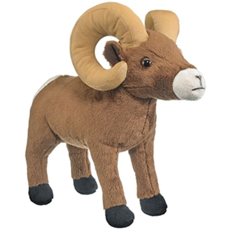 14 Inch Conservation Critter Bighorn Sheep Plush Stuffed Animal By