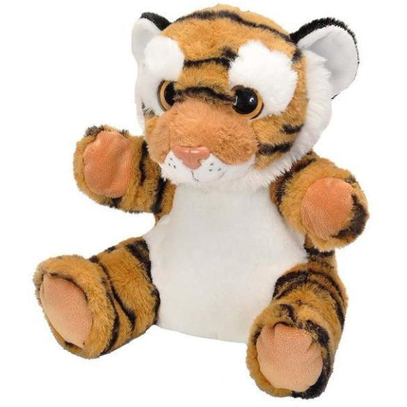 10 Inch Bengal Tiger Plush Stuffed Animal Hand Puppet By Wild