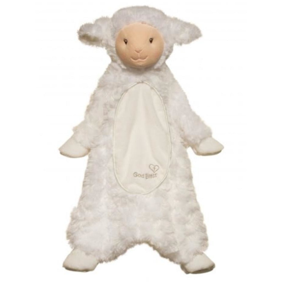 19 Inch Sslumpie God Bless Lamb Plush Stuffed Animal Baby Toy By
