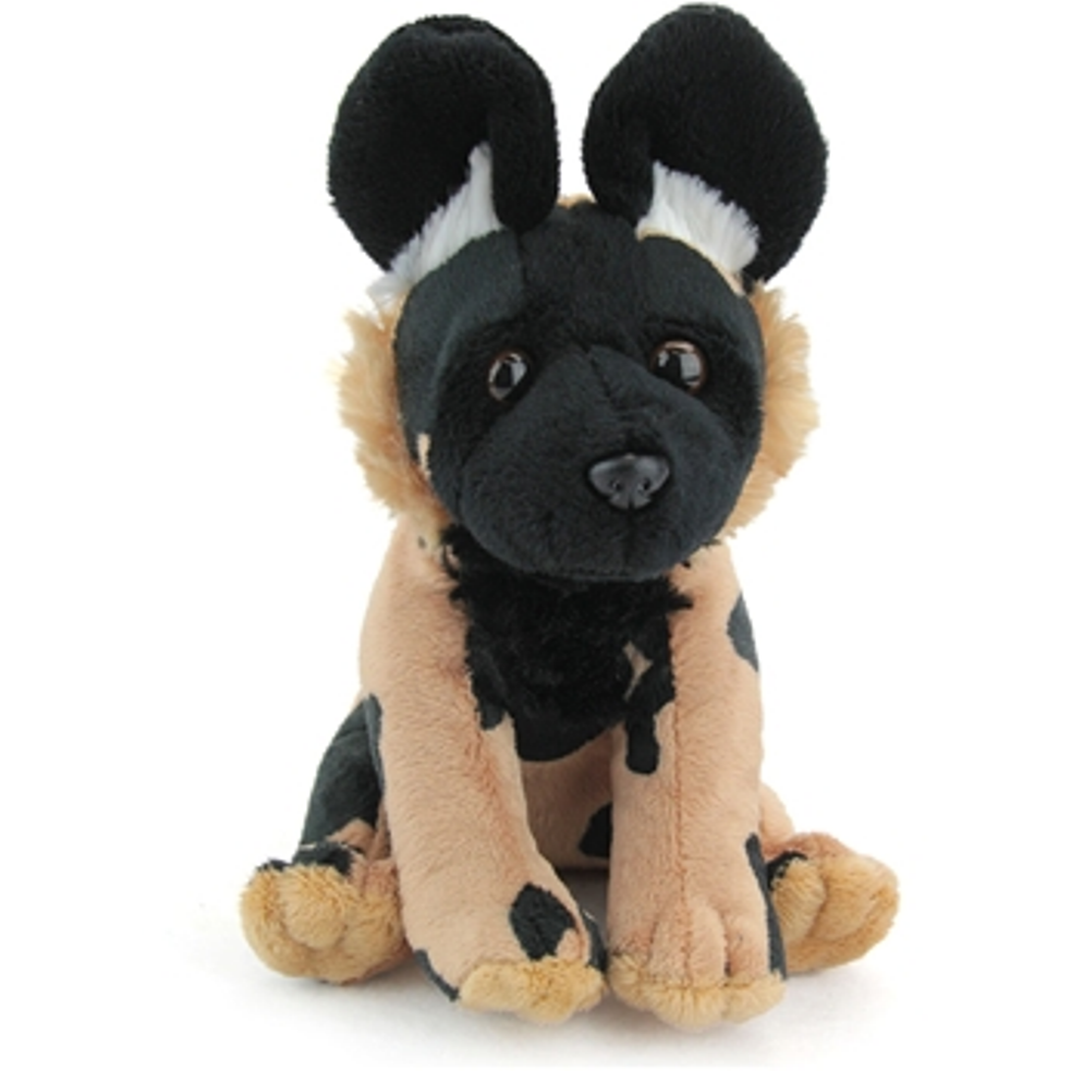 9 Inch Conservation Critter African Wild Dog Plush Stuffed Animal By