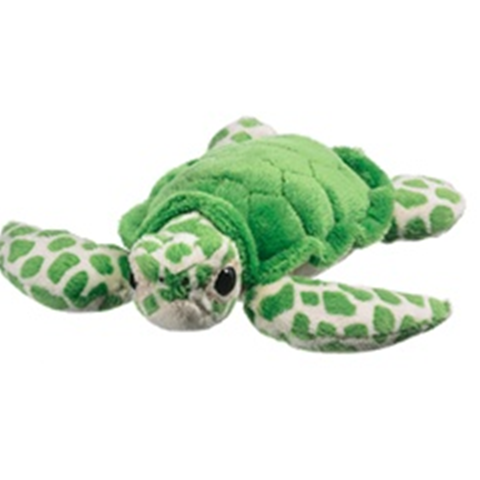 9 Inch Conservation Critter Green Sea Turtle Plush Stuffed Animal By