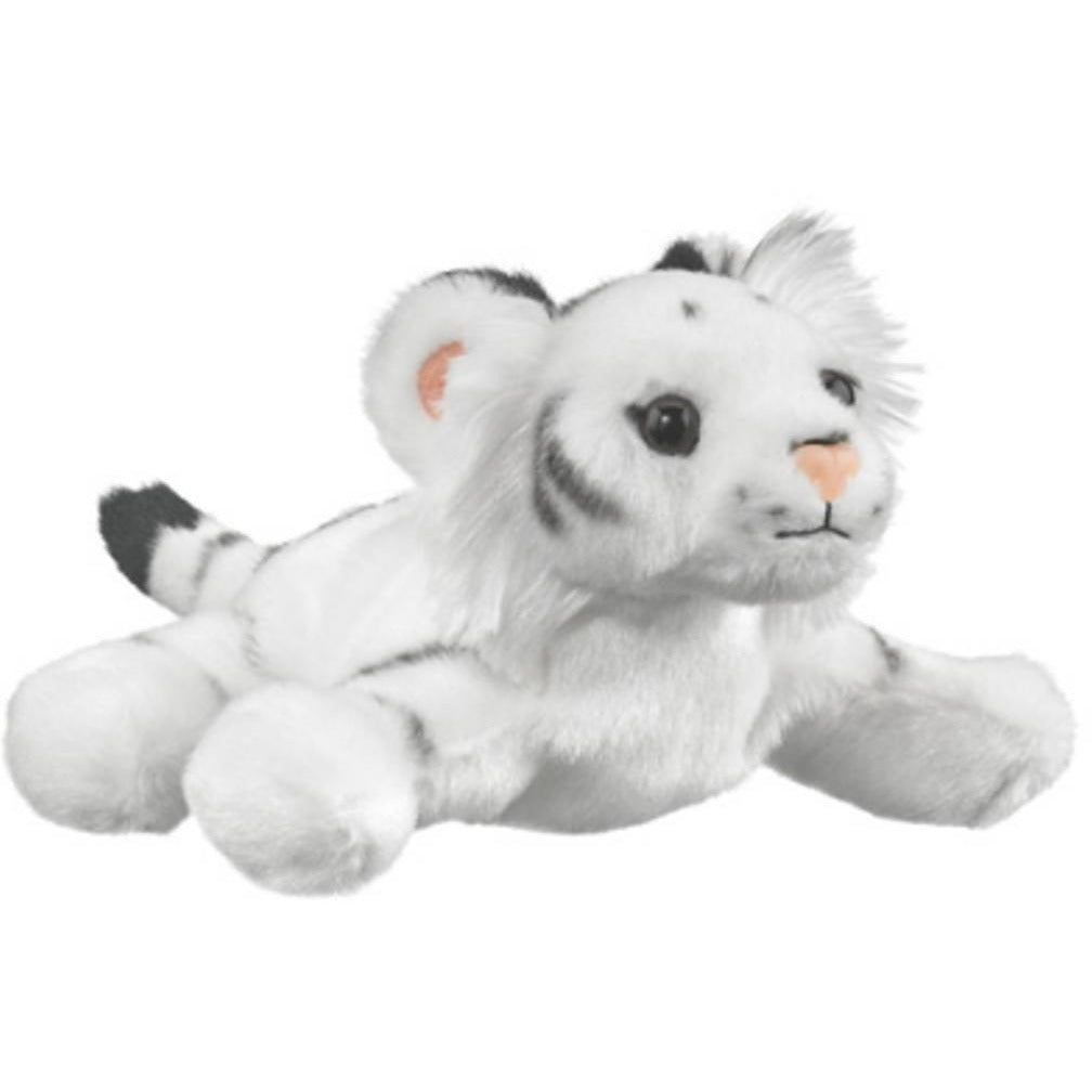 7 Inch Play Critters White Tiger Plush Stuffed Animal By Wildlife
