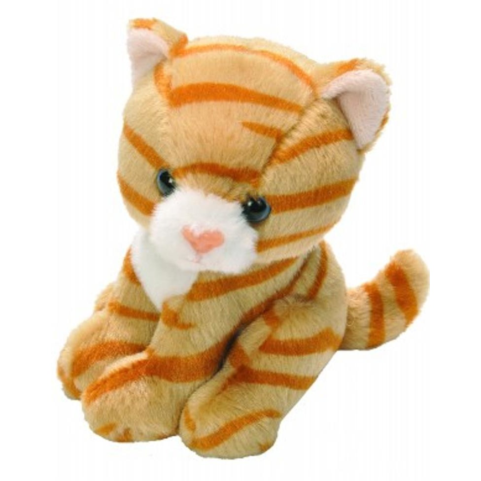 5 Inch Lil Ck Orange Tabby Cat Plush Stuffed Animal By Wild Republic