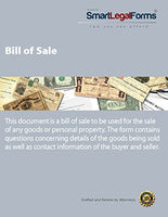 Bill of Sale [Instant Access]