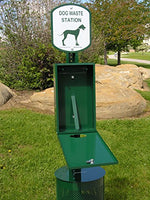Pet Waste Station, Everything Included, Plus 400 Bags Free! PNPS-600 ( PWC-022 )