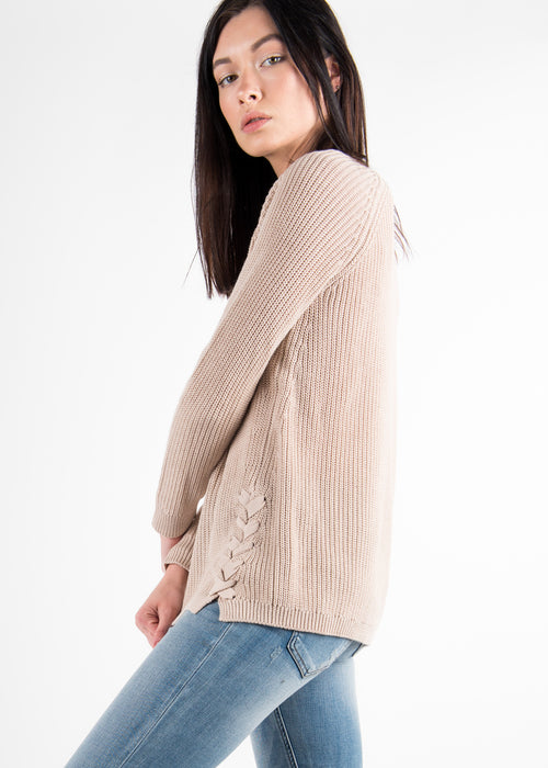 Braid Detail Sweater