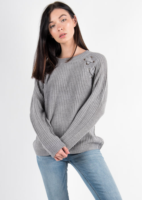Cross Detail Sweater