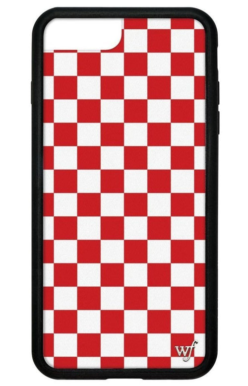 Red Check iPhone 6/7/8 Case