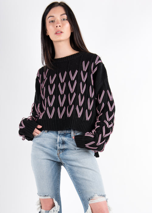 Looped Sweater