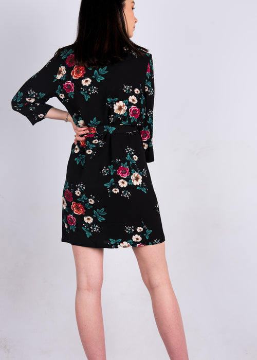 Floral Robe Dress