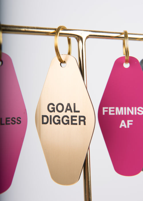 Goal Digger Key Chain