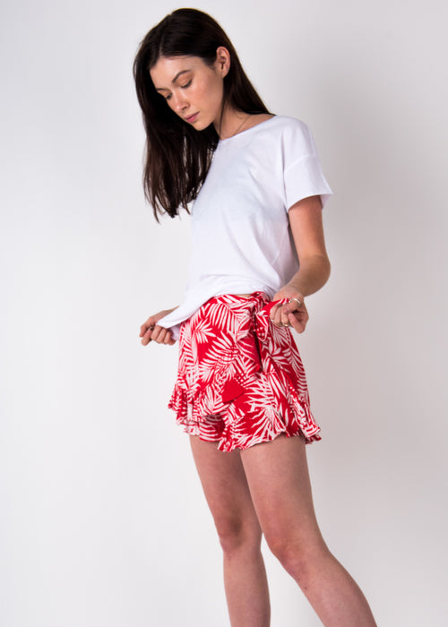 Palm Wrap Shorts