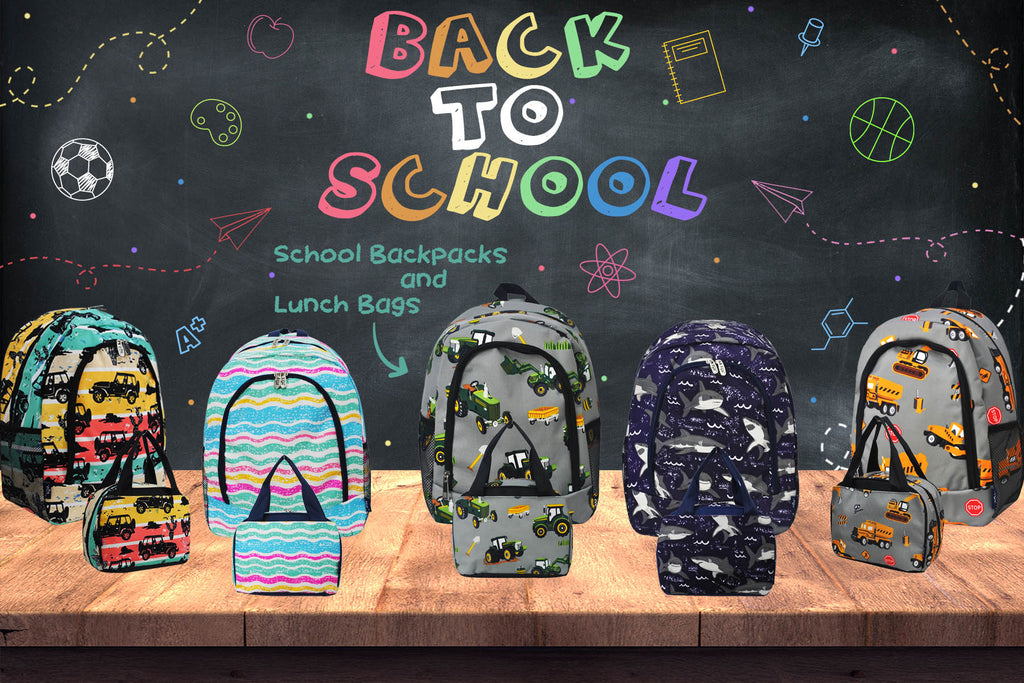 The Perfect School Backpacks and Lunch Bags