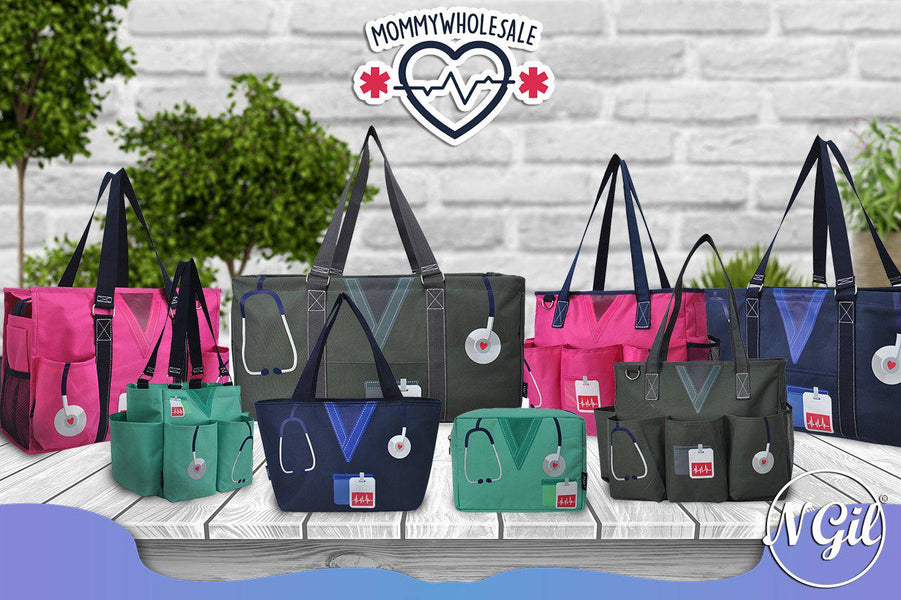 We offer variety section of nurse accessories for work, nurse gift personalized, ER nurse gift, nurse apparel and accessories, nurse tote organizer, nurse tote bags for women, cute nurse gift ideas, nurse themed tote bags, nurse themed lunch bags.