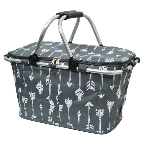 Arrow Gray NGIL Insulated Market Basket