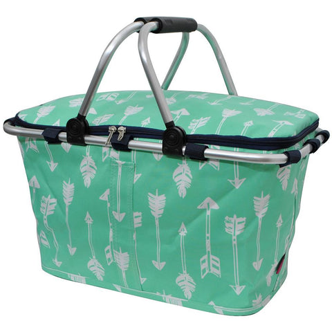 Market basket insulated bags, market basket tote, picnic basket with lid, insulate basket for two, picnic basket for wedding, picnic basket custom, baskets for 3, baskets with blanket, monogram gift, monogram gifts for couple, personalized gift basket, mint basket, arrow picnic basket, personalized gifts for couple.