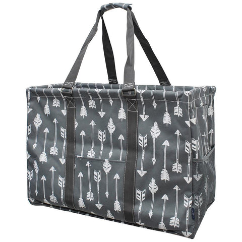 Arrow Gray NGIL Mega Shopping Utility Tote Bag