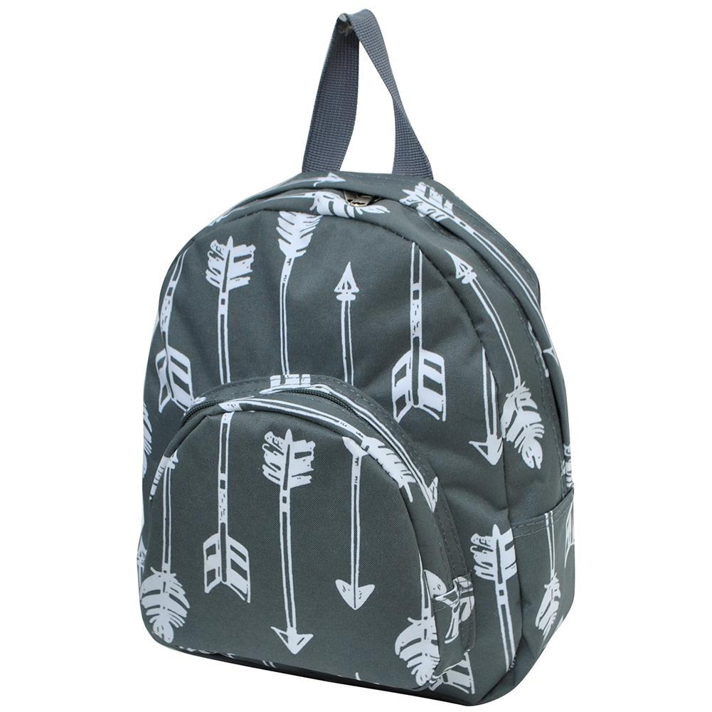 Arrow Gray NGIL Canvas Mini Backpack