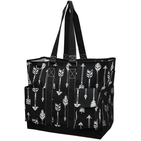Arrow Black NGIL Tall Canvas Tote Bag
