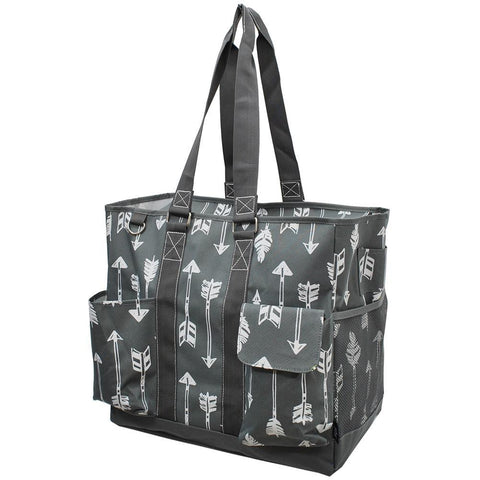 Arrow Gray NGIL Tall Canvas Tote Bag