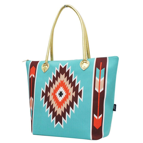 Western Tribe Mint NGIL Gold Collection Tote Bag