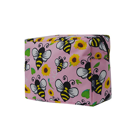 Bee Happy NGIL Large Cosmetic Travel Pouch