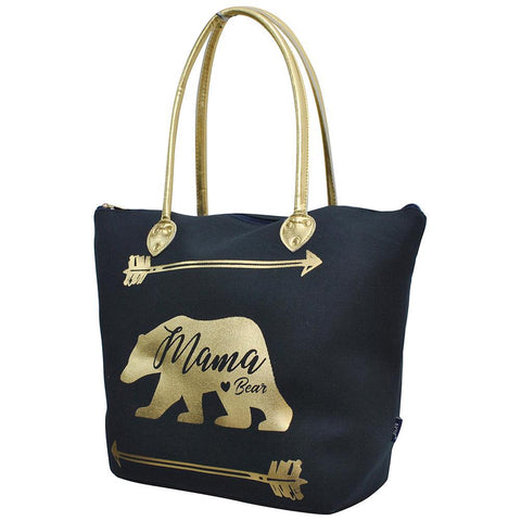 Bear Navy NGIL Gold Collection Tote Bag