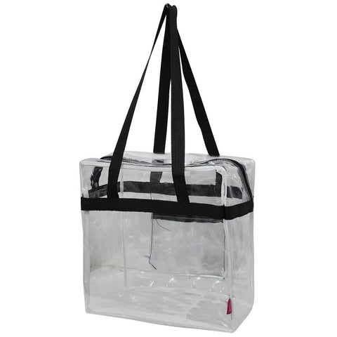 NGIL Clear Stadium Tote Bag