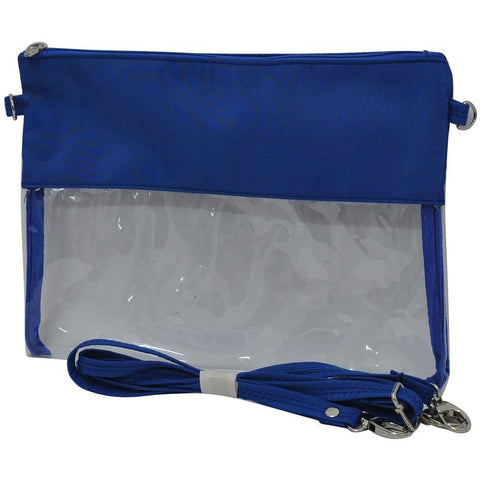 Football Game Clear Stadium Crossbody Bags and Clutch tote