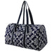 Quatro Vine Pattern NGIL Quilted Large Duffle Bag