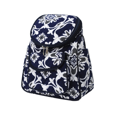 Quatre Vine Pattern NGIL Canvas Mini Backpack