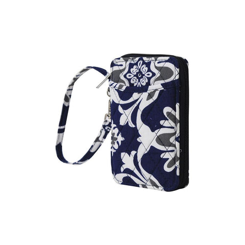 Quatro Vine Pattern NGIL Quilted Wristlet Wallet
