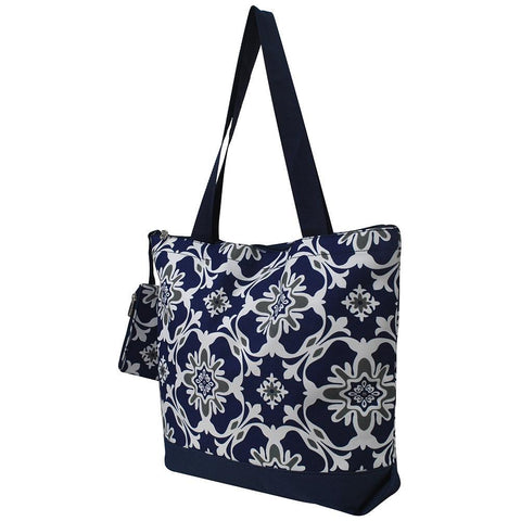 Quatre Vine Pattern NGIL Canvas Tote Bag
