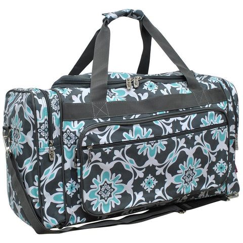 "23"" Duffle Bag, Dance Duffel, Monogram Duffel Bag Women, Personalized Duffel Bag for Girls, Cheer Duffle Bags Cheap, Road Trip Bag Pattern, Weekender Bag Bridesmaids, Travel Bag Pattern, quatro vine print, cute duffle bags."