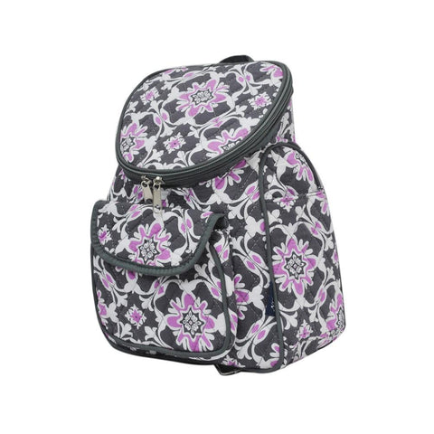 Purple Quatro Vine NGIL Quilted Mini Backpack