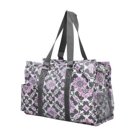 Overnight bag, monogram gifts for her, monogram tote bag for nurse, personalized accessories bag, gifts for nurse wholesale, personalized tote for women, teacher tote bag women, personalized gifts for her, NGIL Brand, best teacher gift bag, teacher gifts end of year, purple tote.