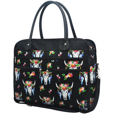 Bull Skull NGIL Travel Tote Bag