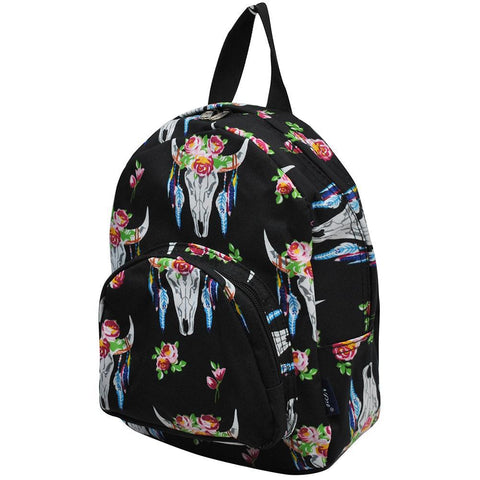 Bull Skull NGIL Canvas Mini Backpack