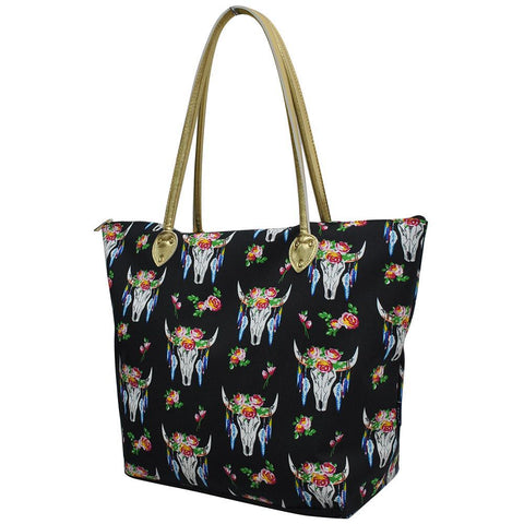 SALE ! Bull Skull NGIL Gold Collection Tote Bag