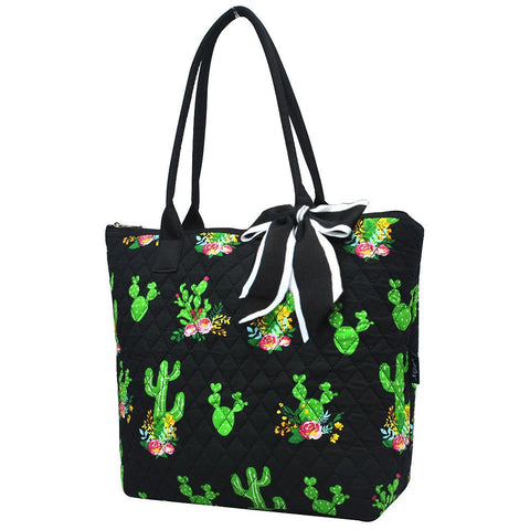 Cactus NGIL Quilted Tote Bag