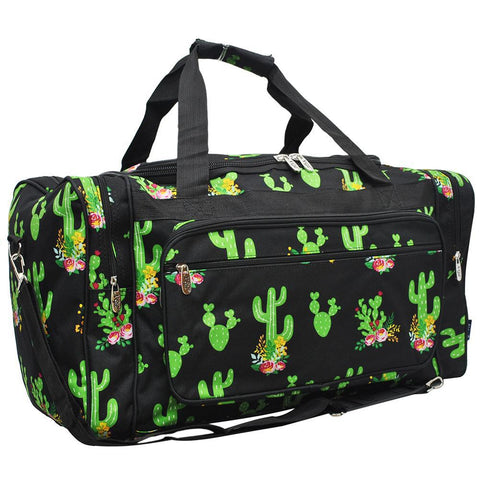 VACATION DUFFLE, Summer Camp Team Bag, monogram duffle bag, cactus duffle bag, personalized duffel bags kids, WESTERN DUFFLE BAGS CUSTOMIZED, road trip gift bag, weekender bag women travel, travel bag for women, cactus duffle.