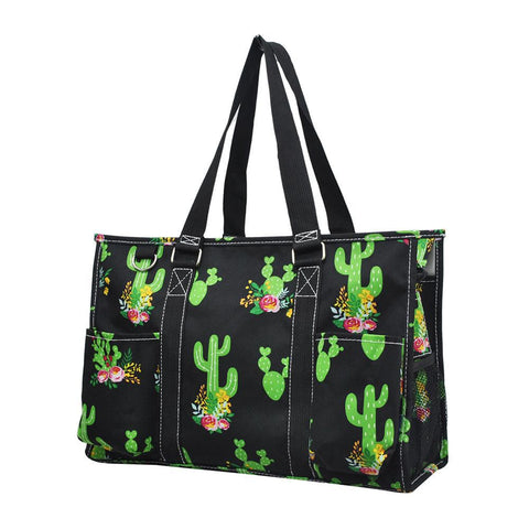 NGIL Brand, Gifts for teacher, monogram travel accessories, monogram tote for women zipper, monogram tote bags in bulk, nurse canvas tote, wholesale totes, tote bags, cactus tote bag, cactus tote.
