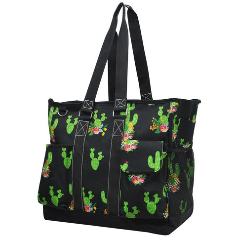 Cactus NGIL Tall Canvas Tote Bag